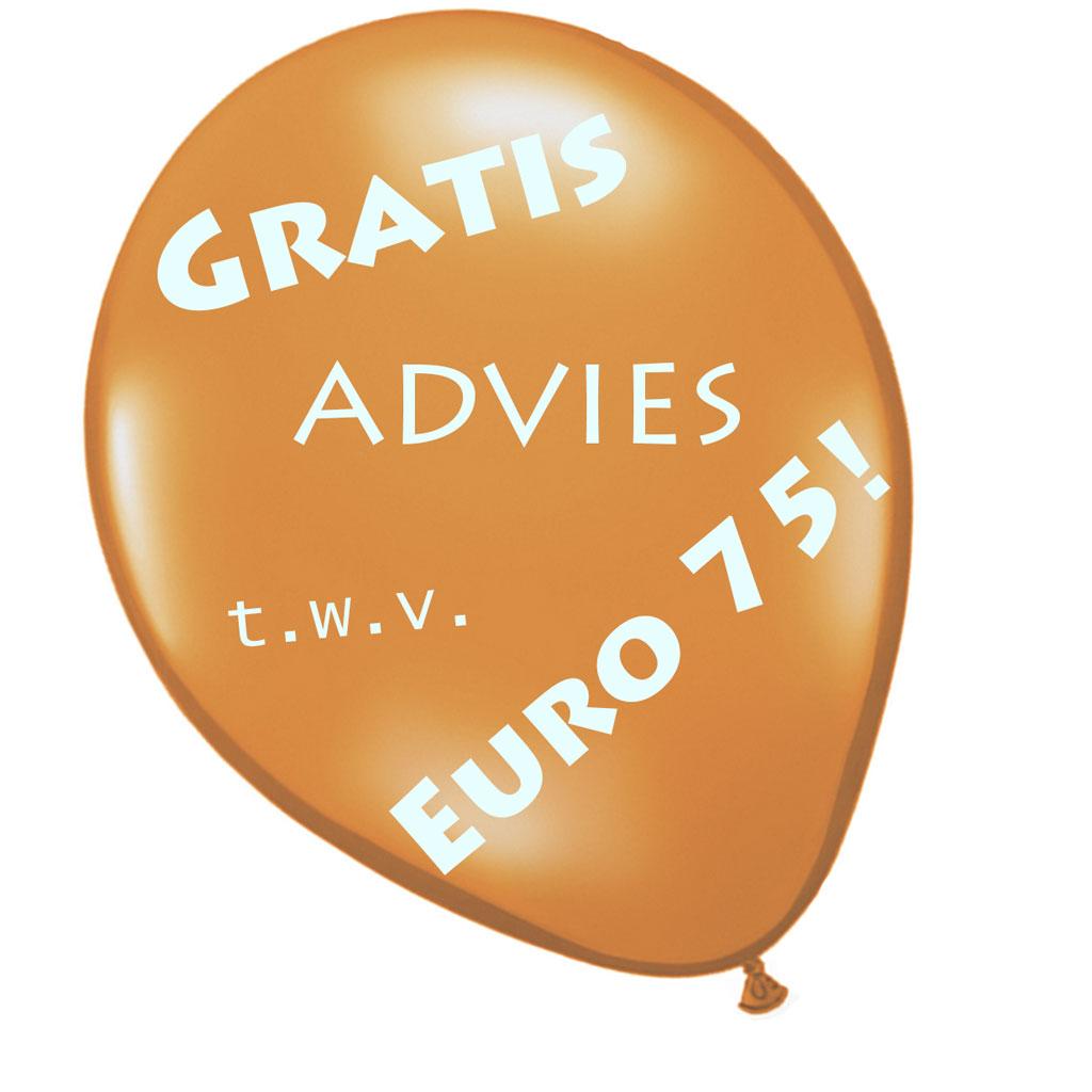 muziekadvies twv euro 75 gratis