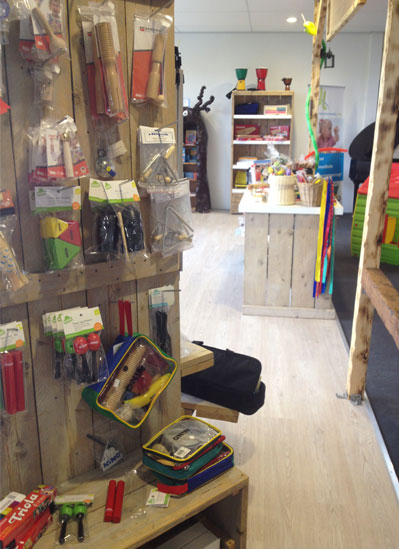 Kindermuziekwinkel bij Music All In