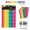 Boomwhackers Chroma-notes stickervellen